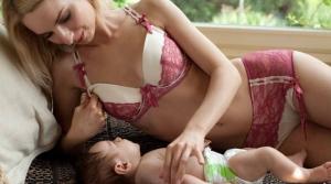 Anieline feeding lingerie